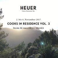 Cooks in Residence Vol.3_Tomeu Ramis  Vidre  Palma de Mallorca