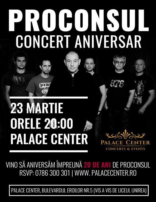 Proconsul - 20 de ani - Concert Aniversar