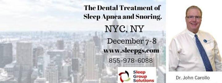 NYC Dental Sleep Medicine Seminar