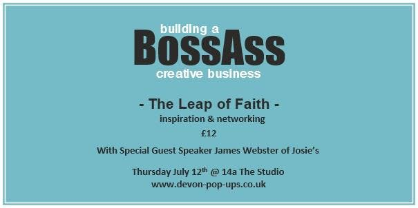 Building a BossAss Creative Business - The Leap of Faith