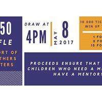 5050 Raffle Draw - May 8th - Big Brothers Big Sisters of SSM