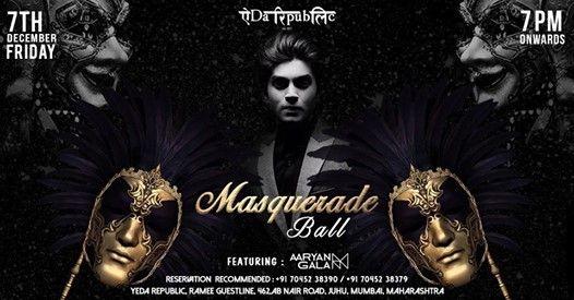 Masquerade Ball ft. Aaryan Gala