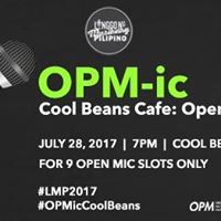 OPM-ic At Cool Beans Cafe