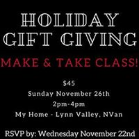 Holiday Gift Giving DIY