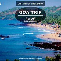 Goa Trip (Last trip)