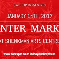 Winter Market at Shenkman Arts Centre - Presented by CAB Expos