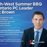 South-West Summer BBQ with Ontario PC Leader Patrick Brown