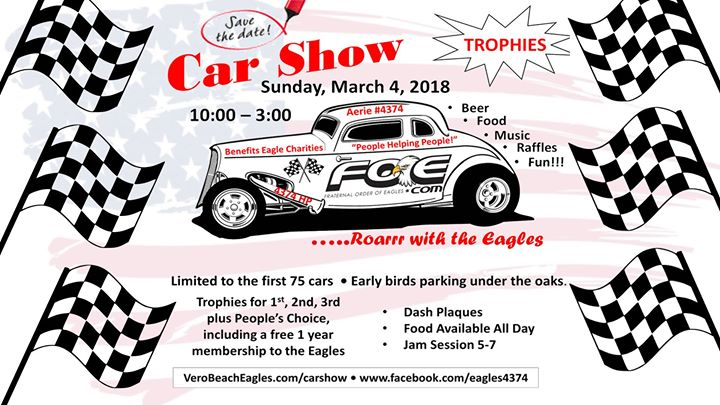 Vero Beach Eagles Nd Annual Car Show Vero Beach - Vero beach car show