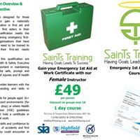 Wolverhampton 1 Day Emergency First Aid training 49