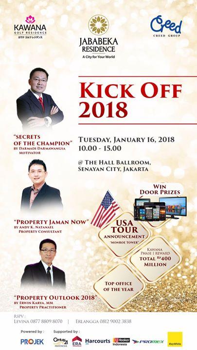 Jababeka Residence Kick Off 2018