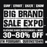 Big Brand SurfStreetSkateSnow Clothing &amp Shoes Sale Expo