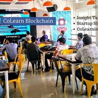 CoLearn Blockchain Indore Insight Talks  Startup Showcase