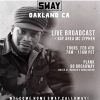 SWAY in the Morning. LIVE from Oakland