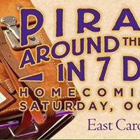Parade of Pirates 2017 Homecoming Parade at ECU with Kappa Delta Chapter