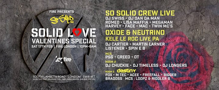 Fire Presents So Solid Crew - Solid Love Valentines Special