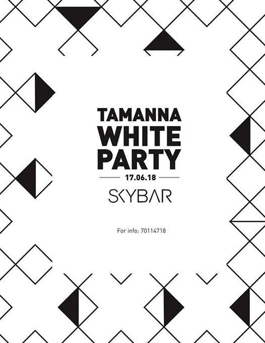 Tamanna White Party at SKY BAR