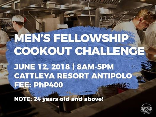 Mens Fellowship Cookout Challenge At Cattleya Resort Antipolo