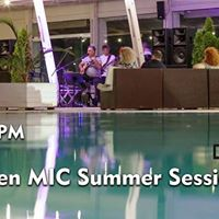 Open Mic Summer Sessions by the Pool