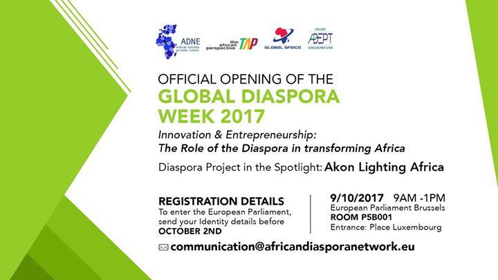 Global Diaspora Week 2017