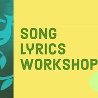 Song Lyrics Workshop for TEENS Ages 12-17