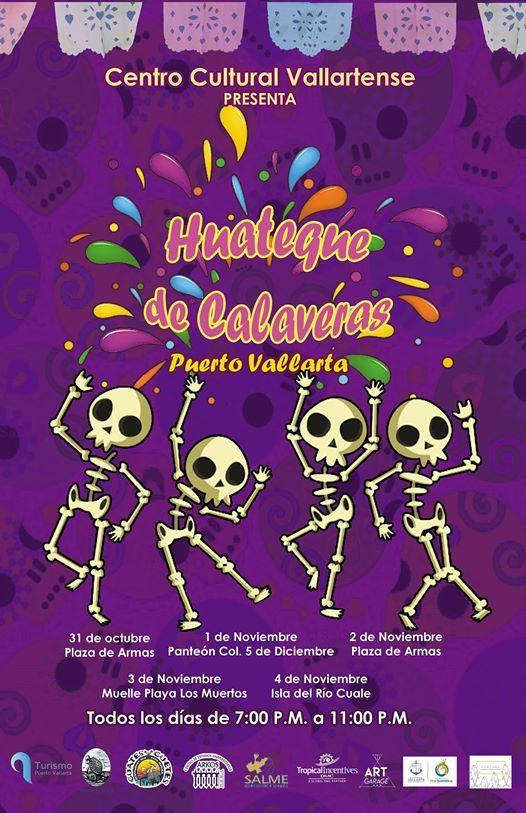 Huateque De Calaveras At Plaza De Armas Puerto Vallarta Puerto Vallarta