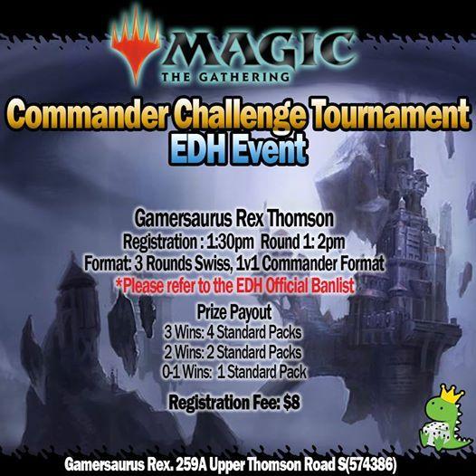 Magic the Gathering Commander Challenge