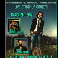 Approaching Happiness w Krish Mohan Live Comedy Show