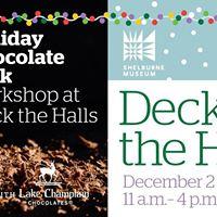 Holiday Bark Workshop at Deck the Halls