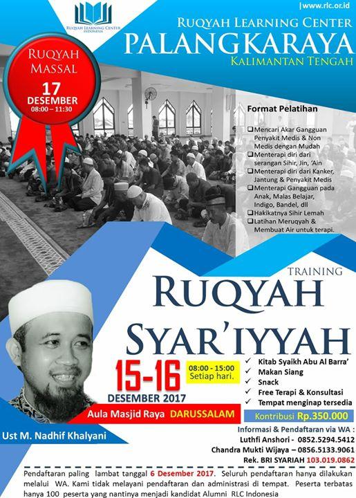 Training Ruqyah Syariyyah at Masjid Raya Darussalam