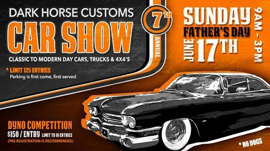 Fathers Day Car Show At Dark Horse Customs LLC Bozeman - Dark horse customs car show