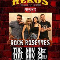 Rock Rosettes rock Heros