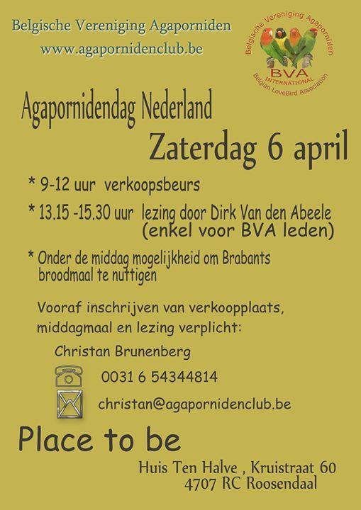 BVA Agapornidendag Nederland
