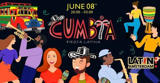 Cumbia Fiesta Latina at Lil Amsterdam Central Station