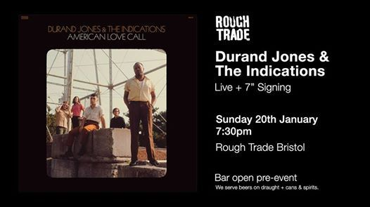 Durand Jones & The Indications  Live & Signing