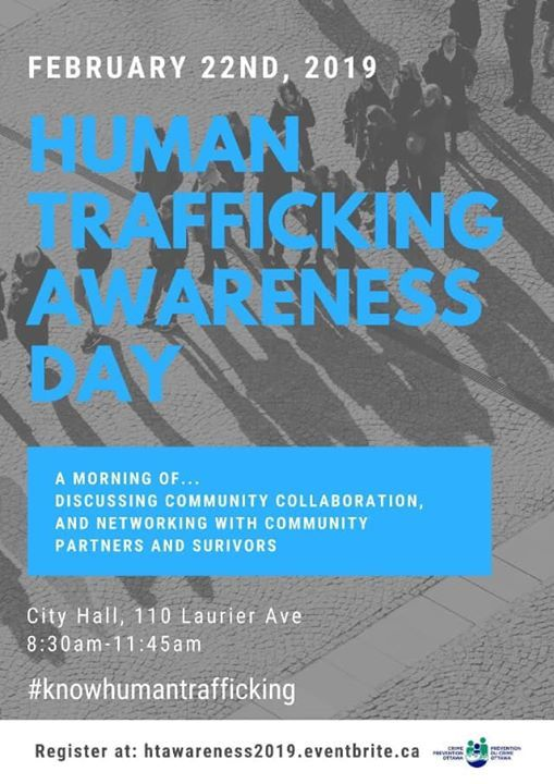 Provincial Human Trafficking Awareness Day Event