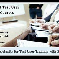 Occupational Test User Training Personality