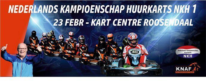 Nederlands Kampioenschap Huurkarts NKH Race 1