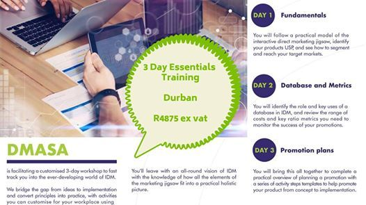 3 Day Essentials Training - Durban