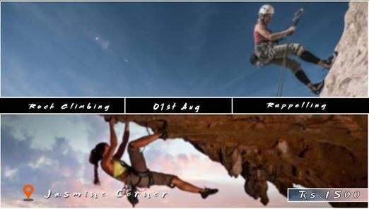 Rock Climbing & Rappelling