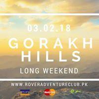 Long Weekend - Gorakh Hills.