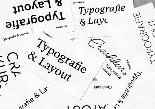 Crashkurs Typografie Layout At Dynamo Zürich Offiziell