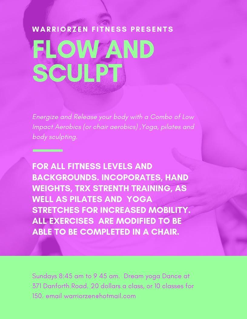 Flow and Sculpt
