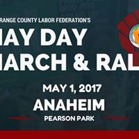 May Day March &amp Rally
