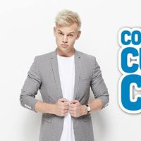 Joel Creasey in Comedy for Cure and Care - Bunbury