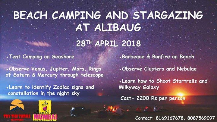 Beach Camping And Stargazing At Alibaug