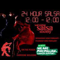 Warwick Salsa 24 Hour Salsa Marathon