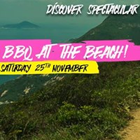 Campus Event Hike &amp BBQ at the beach