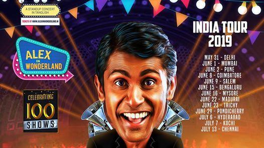 Alex in Wonderland - Chennai