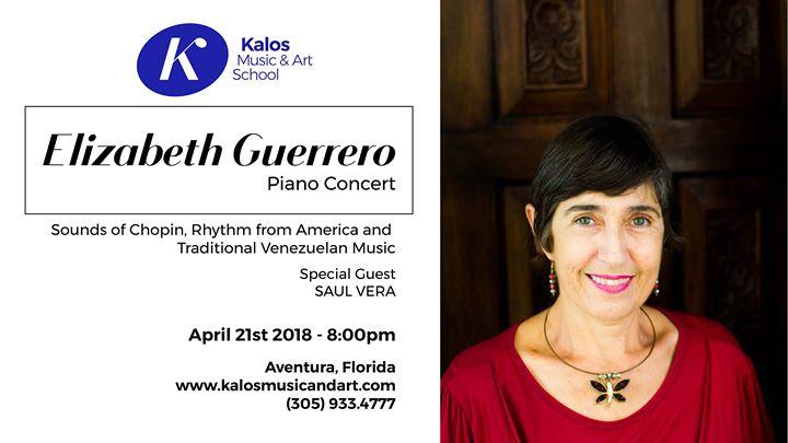 Elizabeth Guerrero Piano Concert