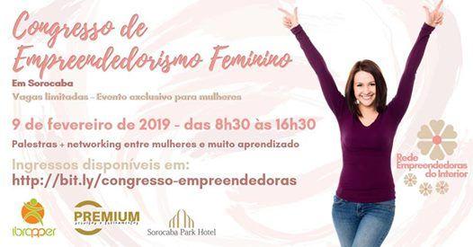 Congresso de Empreendedorismo Feminino em Sorocaba
